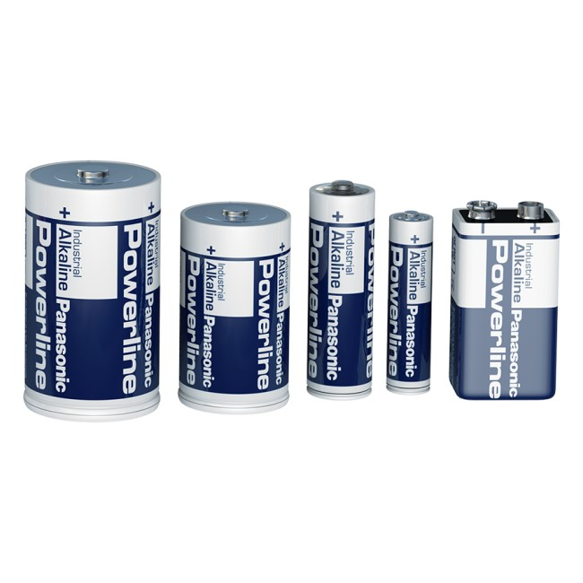 Panasonic alkaline line